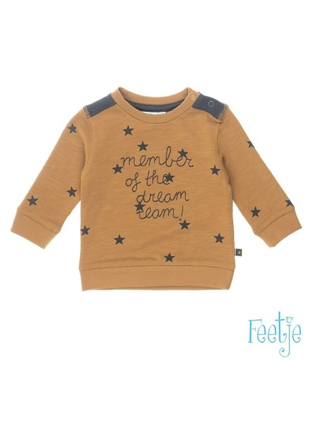 Feetje Baby Sweater Member Color: Camel