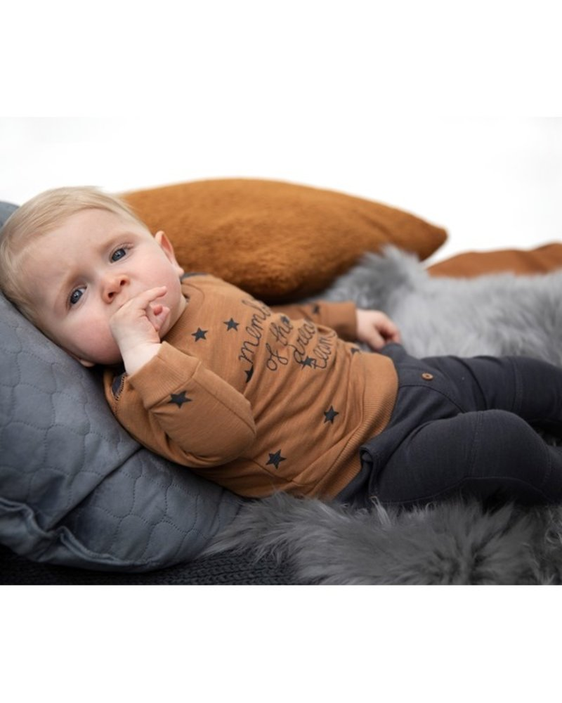 Feetje Baby Sweater Member Color: Camel
