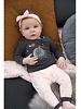 Feetje Baby longsleeve Moon Color: antraciet melange