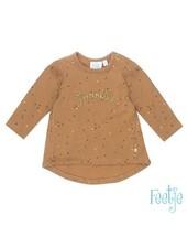Feetje Baby Sweater AOP Color: camel