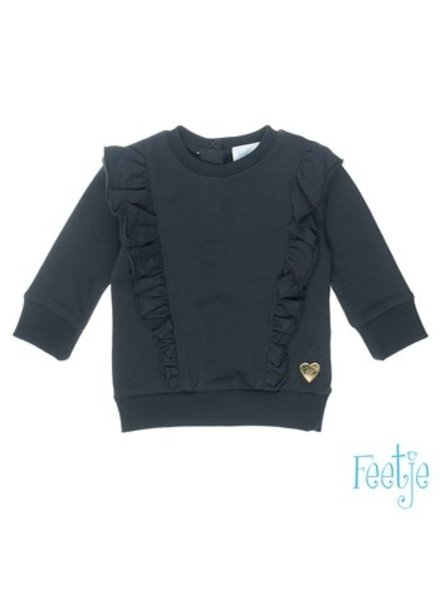 Feetje Baby Sweater Color: antraciet