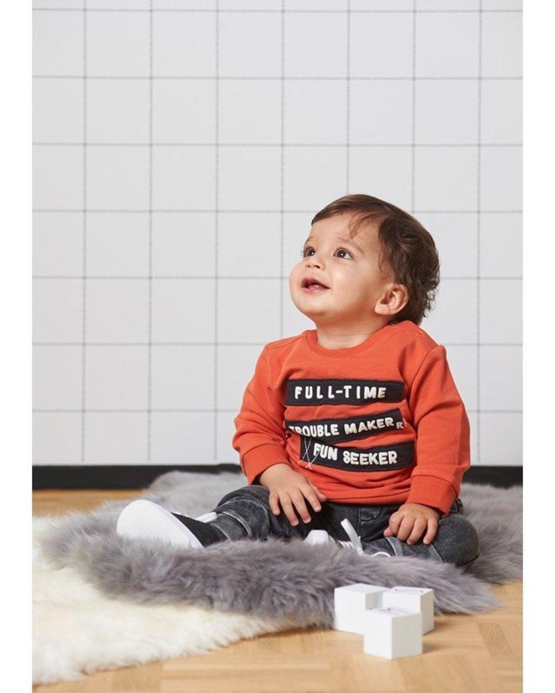 Feetje Boys Sweater Color: oranje