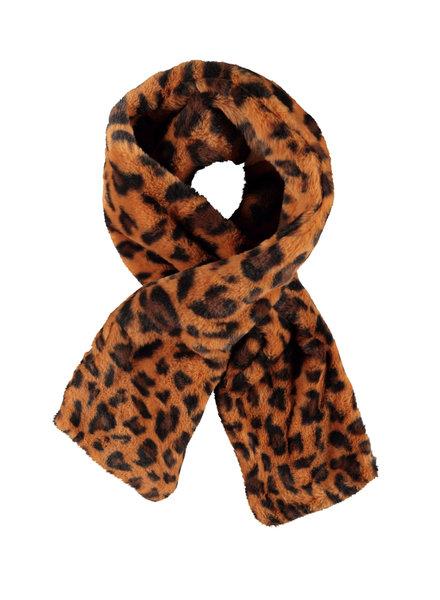 Like Flo Flo girls fur scarf cognac