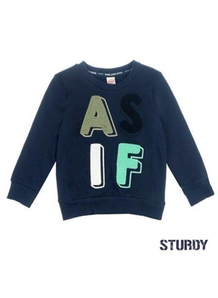 Sturdy Boys Sweater Color: marine