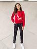 Looxs Girls sweater - cherry