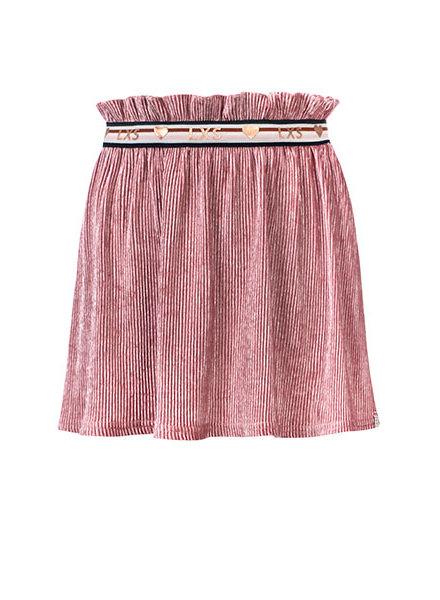 Looxs Little skirt bordeaux glitter
