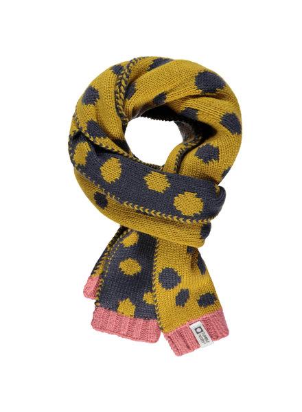 Tumble 'n Dry Girls Sjaal Jetta Color: grijs/geel