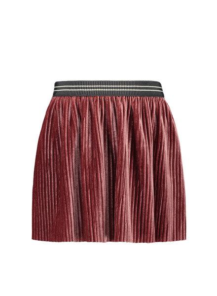 Like Flo Girls rib velours Skirt Color: old pink