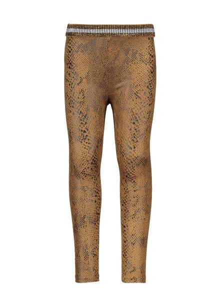 Like Flo Girls suede snake legging Color: camel