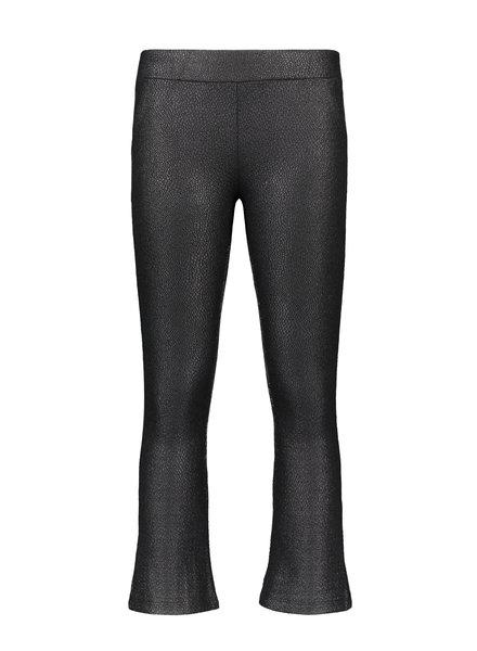 Like Flo Girls jaquard snake flare pants Color: black