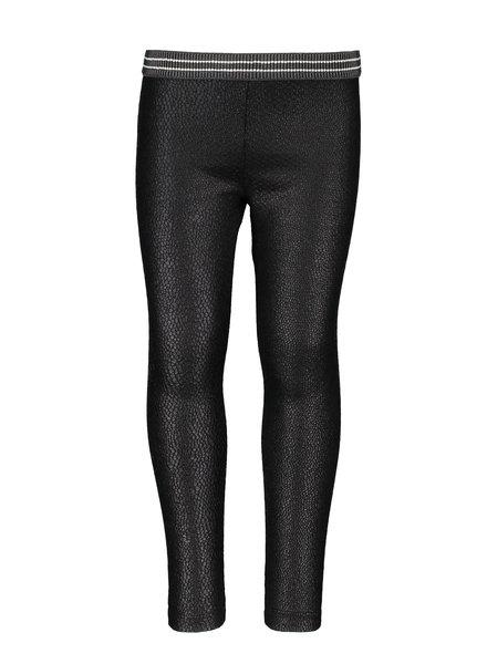 Like Flo Girls jacquard Snake legging  Color: black