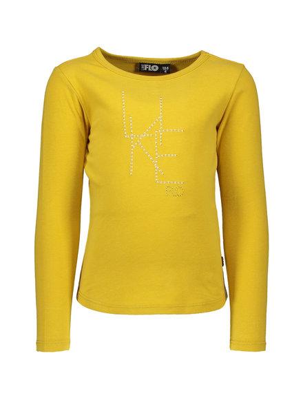 Like Flo Girls Jersey LS Tee Color: oker