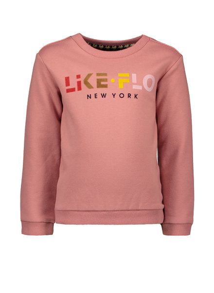 Like Flo Girls sweater like Flo Color: old pink