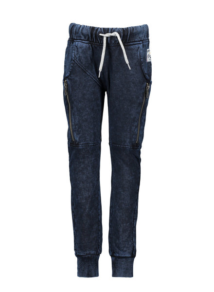 B.nosy Boys long sweatpants with curved crotch Color: ink blue denim