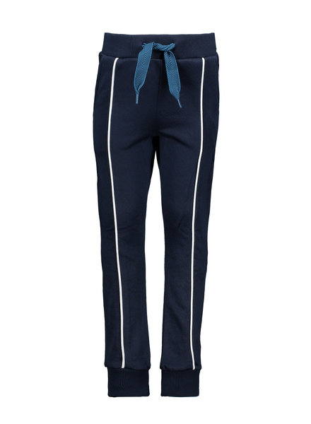 B.nosy Boys long sweatpants with contrast piping at front Color: ink blue