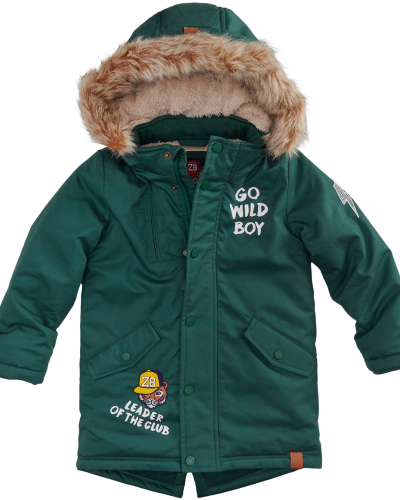 Z8 Baby Boys winterjacket Michiel Color: bottle green