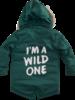 Z8 Boys Winterjacket Michiel Color: bottle green