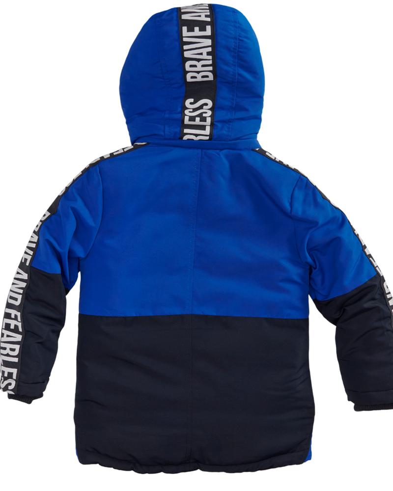 Z8 Boys Winterjacket Damian Color: brilliant blue