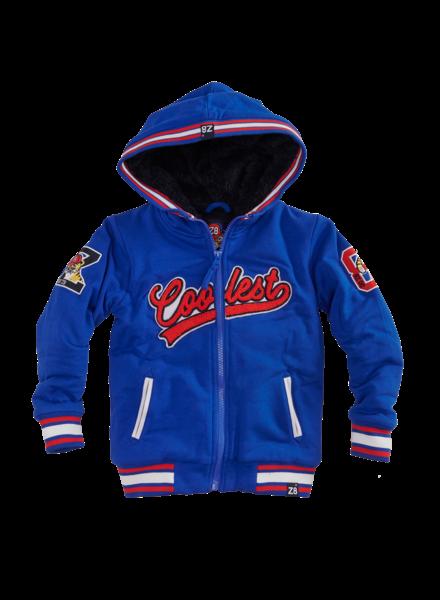 Z8 Boys Teddy Jacket Harm Color: brilliant blue