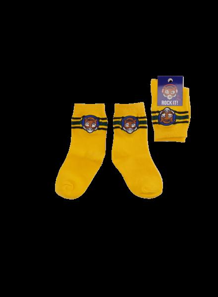 Z8 Boys Socks Ralph Collor: yellow fellow