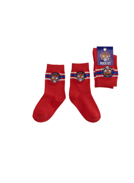 Z8 Boys Socks Ralph Color: red pepper