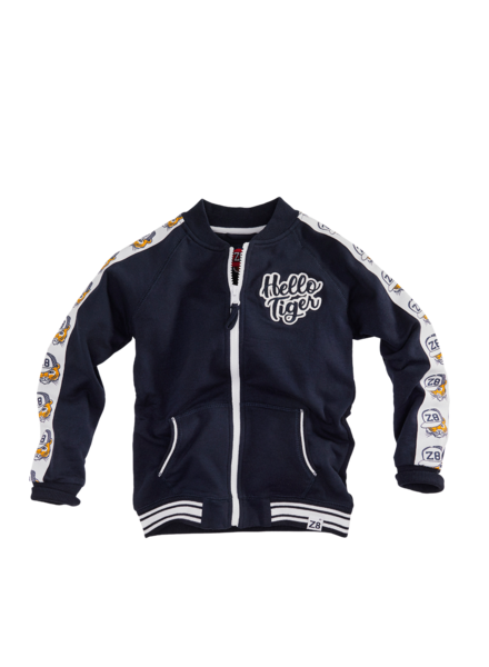 Z8 Boys Sweat Jacket Lorenso Color midnight navy