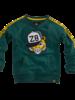 Z8 Boys sweater Duuk Color: bottle green