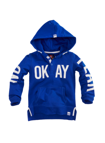 Z8 Boys Hooded sweater Max Color: brilliant blue