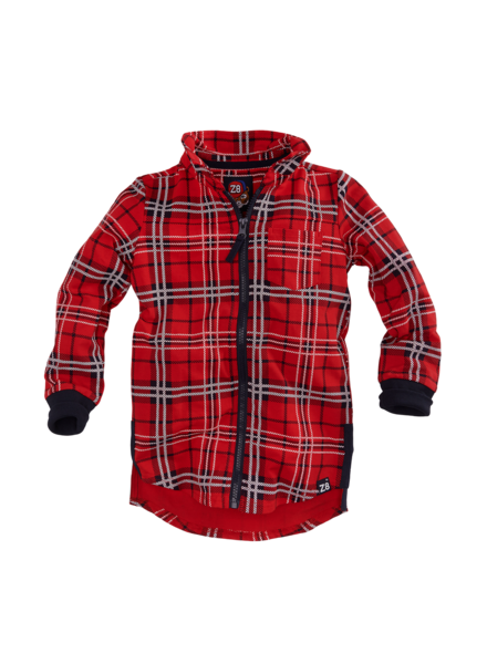 Z8 Boys Blouse Baas Color: red pepper