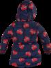 Z8 Girls Winterjacket Elodie reversible Color: royal blue/AOP