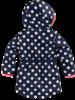 Z8 Baby Girls Winterjacket Suze Color: royal blue/wild/dots