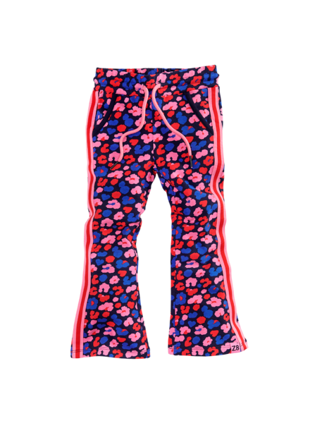 Z8 Girls Pants Sandra Color: royal blue/AOP