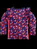 Z8 Girls T.Shirt Ls Minke Color: royal blue/ AOP