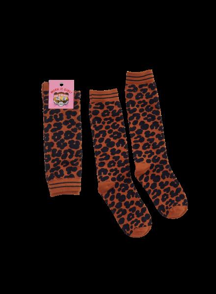 Z8 Girls Socks Valerie Color: leopard AOP