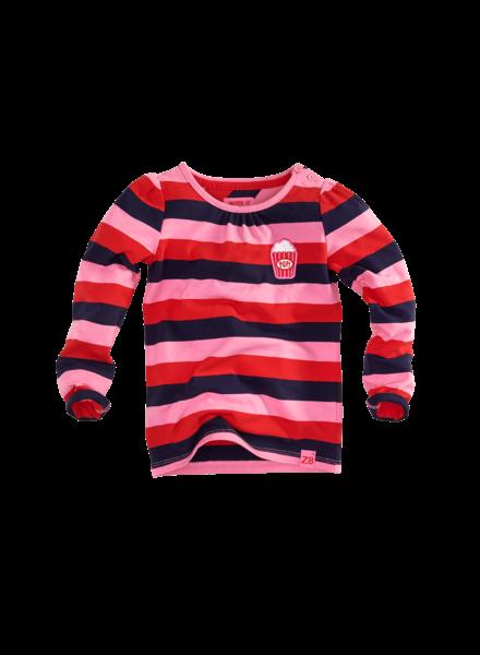 Z8 Girls Shirt Ls Lola Color: pink/stripes