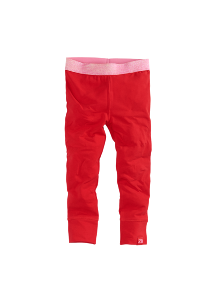 Z8 Gilrs legging Eefje Color: lipstick red