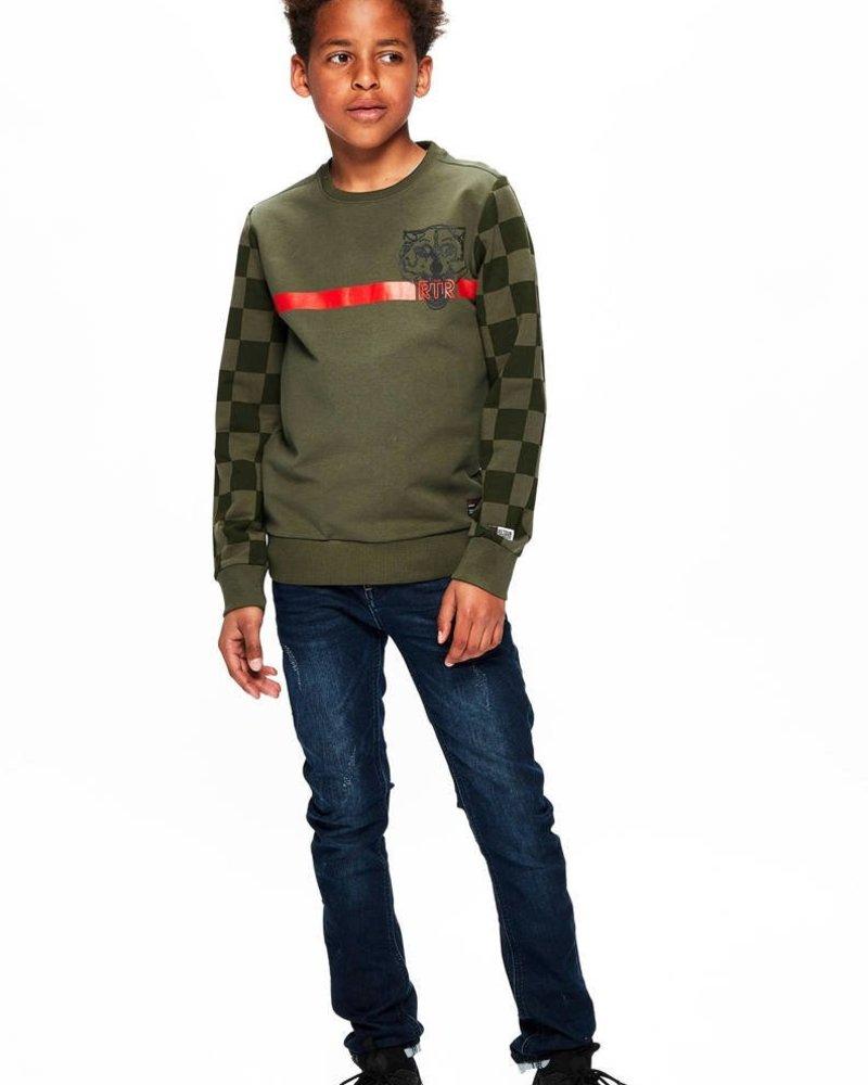 Retour Boys Shirt Mark: Color: mid army