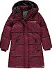 Quapi kidswear  Girls Jacket Tulia Color :bordeaux leopard