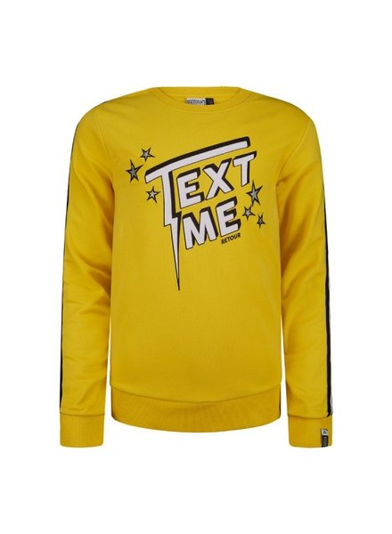 Retour Girls Sweater Suzan Color: yellow