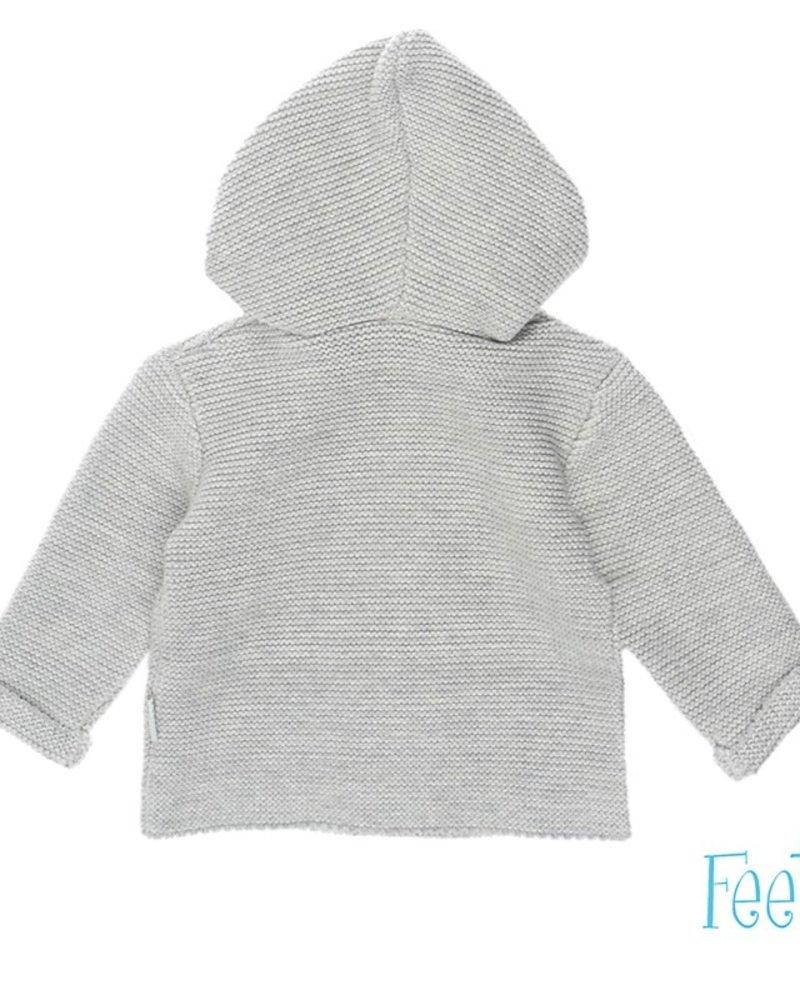 Feetje Baby Vest Color: grijs melange