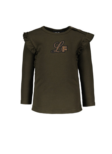 Like Flo Baby Girls Jersey LS Colo: forest