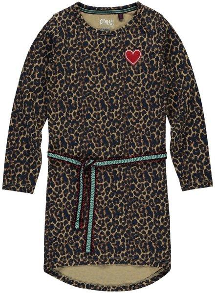 Quapi kidswear  Dress Tamia 2 - Leopard
