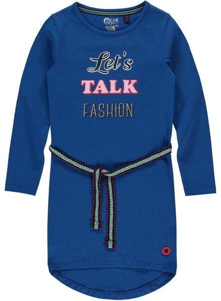 Quapi kidswear  Dress Tamia 2 - Classic blue