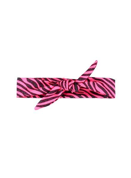 B.nosy Girls Glitter Zebra Hairband Color: pink zebra