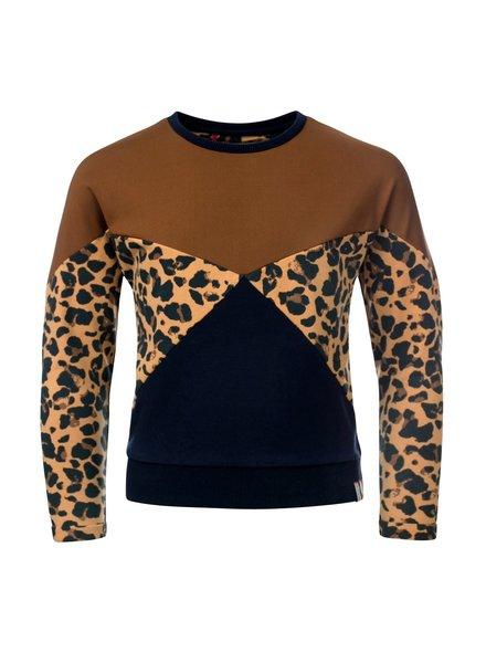 Looxs Girls sweater mix animal