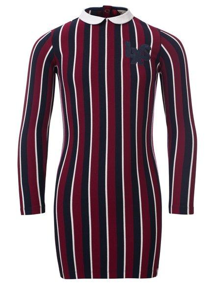 Looxs Girls dress stripe