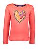 Kidz Art Girls T-shirt l/s HEART