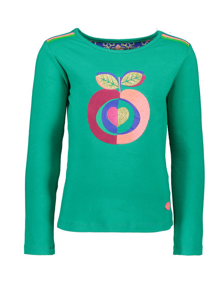 Kidz Art Girls T-shirt l/s APPLE