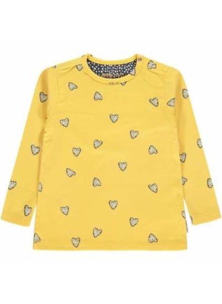 Tumble 'n Dry Girls longsleeve Jogel Color: yellow