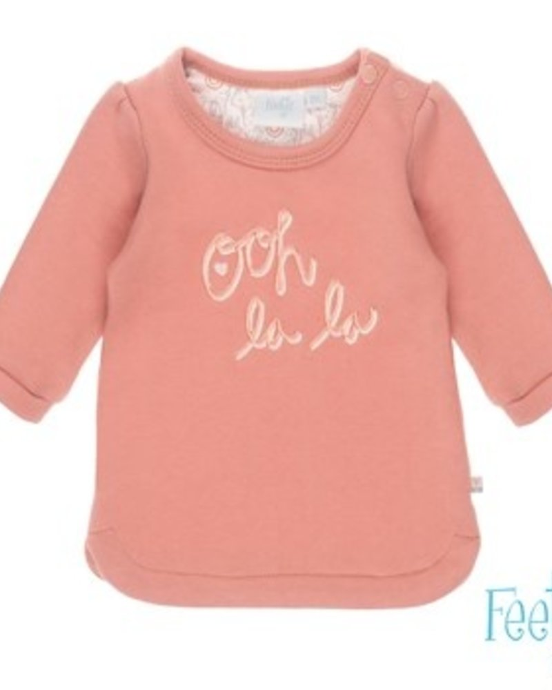 Feetje Girls Dress Oh La Lama Color: roze